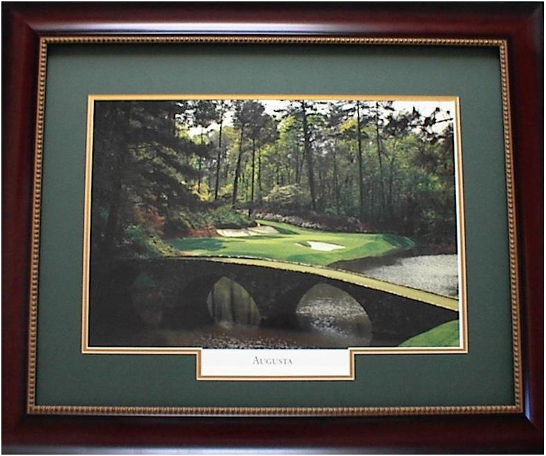 Augusta Framed Golf Art