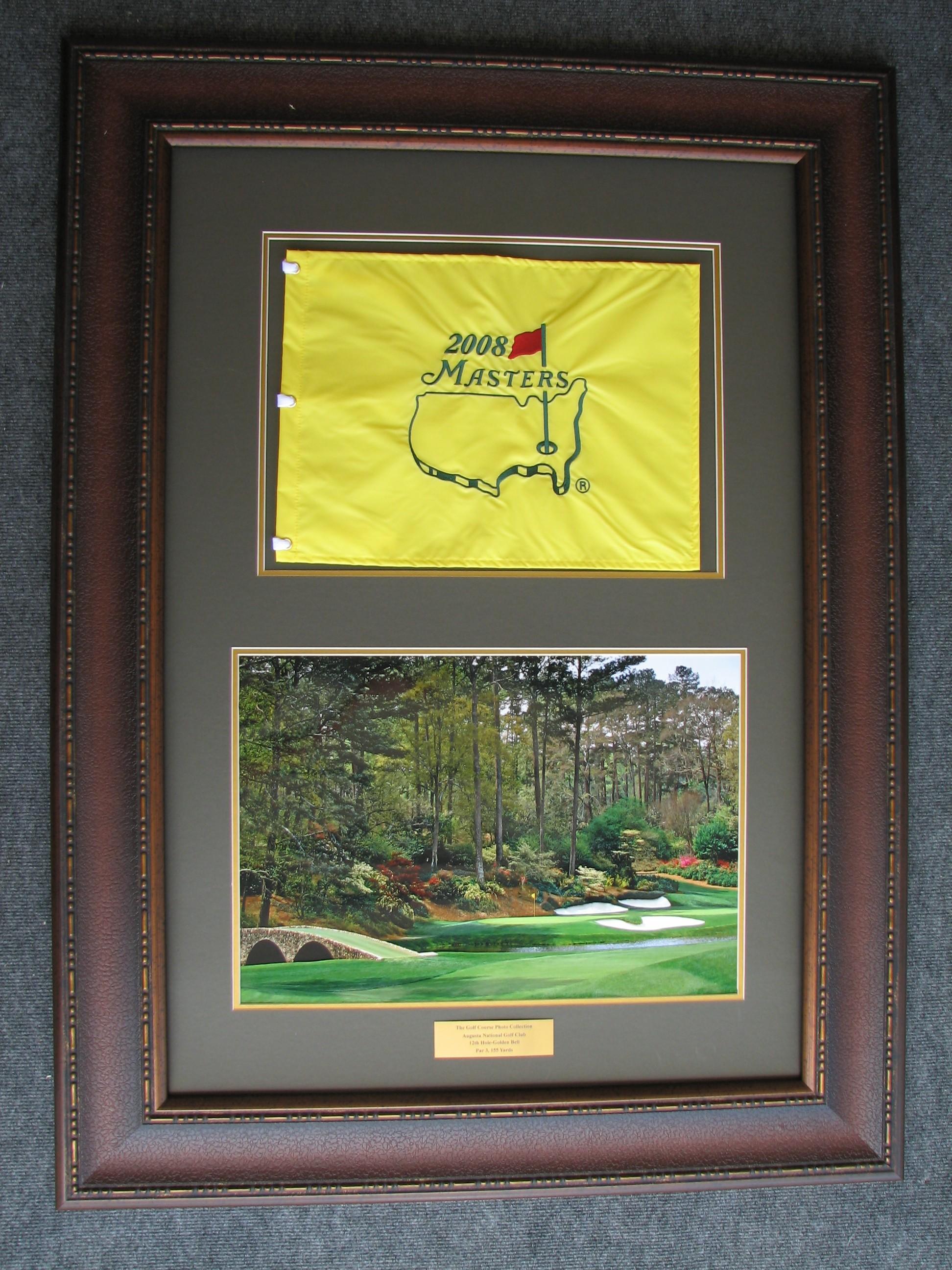 Augusta Framed Flag